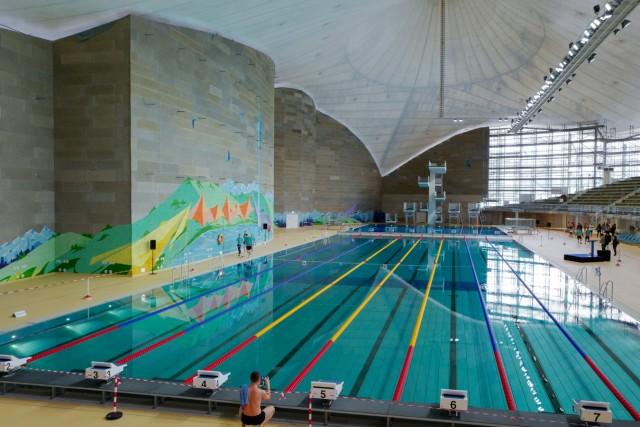 Olympia-Schwimmhalle in München, 2019
