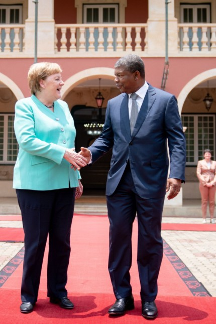 Bundeskanzlerin Merkel in Angola