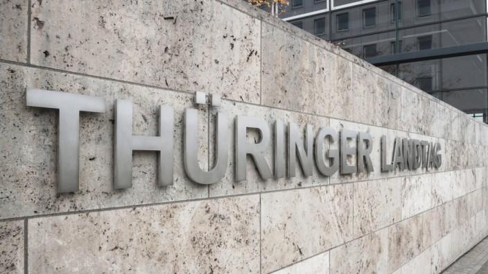 Thüringen: Landtag in Erfurt