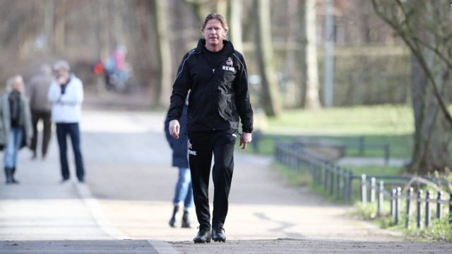 1.FC Köln Training Trainer Markus Gisdol (1.FC Köln) 31.01.2020 *** Sports 1 FC Köln Training Coach Markus Gisdol 1 FC; Gisdol
