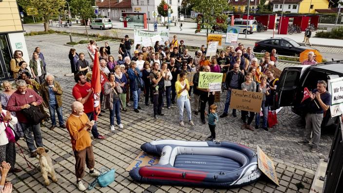 Demo 'Sicherer Hafen'