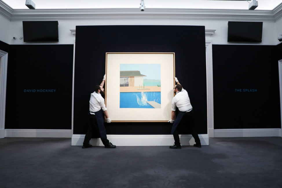 ***BESTPIX*** Sotheby's Contemporary Art Auctions Preview