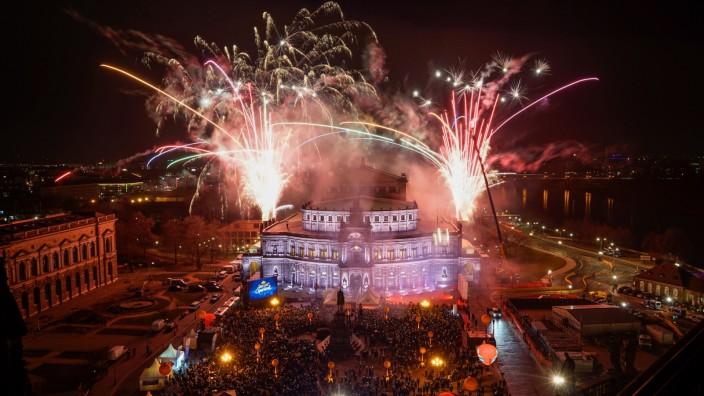 15. Semperopernball Dresden - Feuerwerk