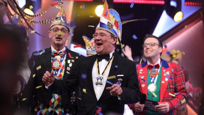 CDU-Chef Armin Laschet beim Karneval 2020 in seiner Geburtsstadt Aachen.