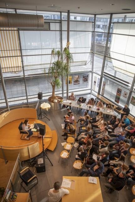 Landkreisentscheid Vorlesewettbewerb, Stadtbibliothek Germering