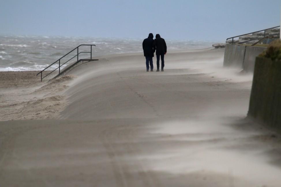 Sturmtief 'Sabine' - Norderney
