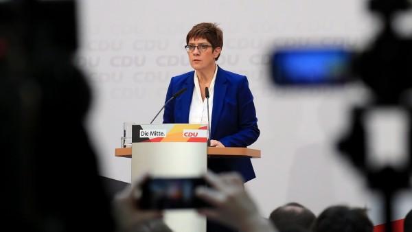 Leader of Germany's  Ruling CDU Annegret Kramp-Karrenbauer To Step Down