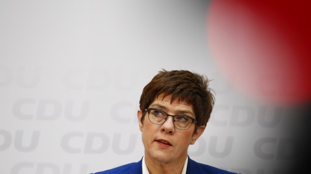 Annegret Kramp-Karrenbauer To Step Down As CDU Leader