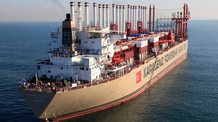 Power SHip Pressebilder von:  Karadeniz Energy Group