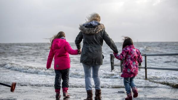 Sturmflut in Wilhelmshaven