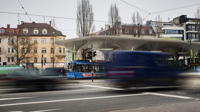 Verkehr in München, 2018
