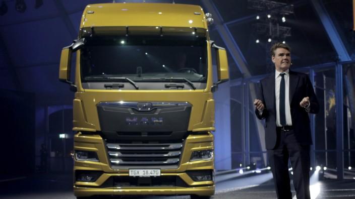 MAN bringt neue Lastwagen auf den Markt
