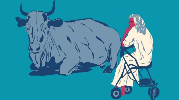 In Europa leben immer mehr ältere Menschen, die Bevölkerungen schrumpfen