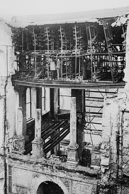 Dresden-Neustadt. Ruine des Japanischen Palais