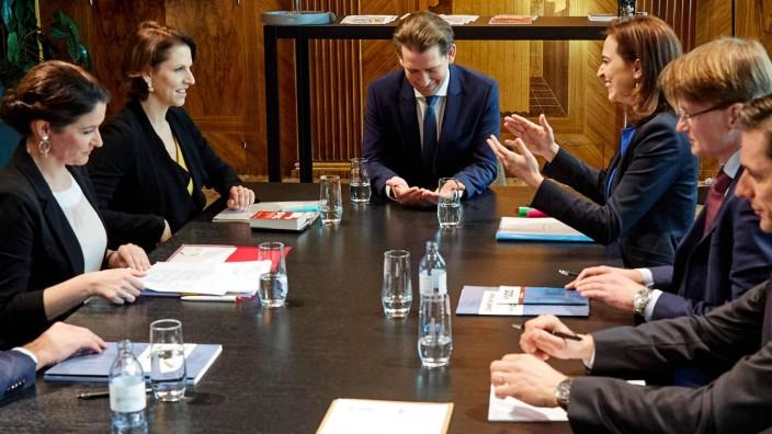 - Wien 10.02.2020 - Heute am Vormittag gab es im Rahmen eines runden Tisches im Bundeskanzleramt eine Aussprache zwisch