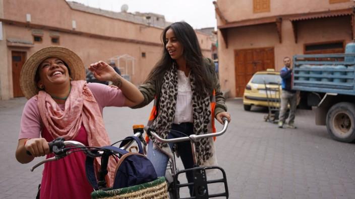 Radtour durch die Medina in Marrakesch