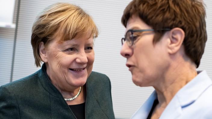 Fraktionssitzungen der Bundestagsparteien - CDU/CSU