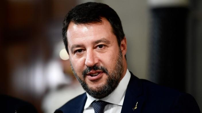 Italien: Matteo Salvini im August 2019 in Rom