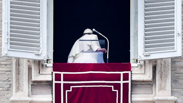Papst Franziskus 2020 im Vatikan