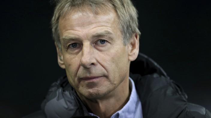 Jürgen Klinsmann als Hertha-Trainer 2019 in Berlin