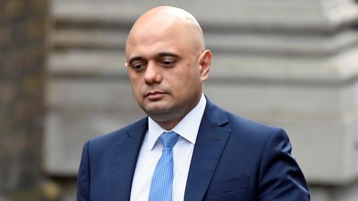 Großbritannien: Sajid Javid 2020 in London