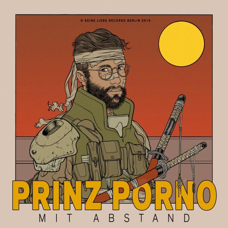 Prinz Porno - Mit Abstand Albumcover