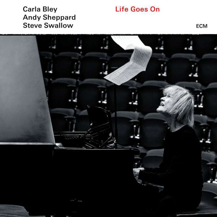 Carla Bley - Life Goes On Cover