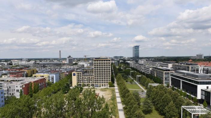 Parkstadt Schwabing in München, 2019