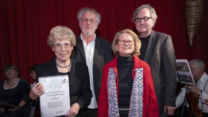 Heinar-Kipphardt-Preiss an Maria Brand