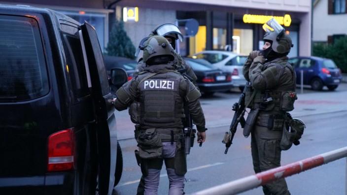 Polizeieinsatz in Plochingen
