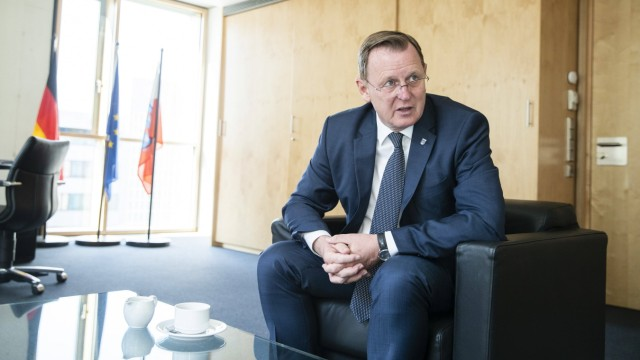 Ministerpraesident von Thueringen Bodo Ramelow in der Landesvertretung Thueringen in Berlin am 26. Juni 2019. Bodo Rame