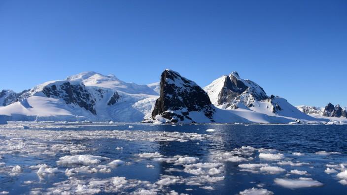 Klimakrise: Die Antarktis wird immer wärmer.