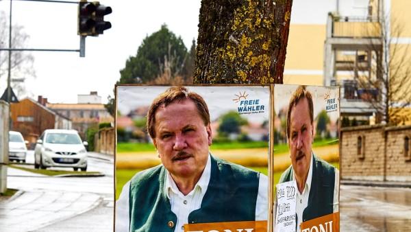 Ebersberg Wahlplakate wg. Beschwerden