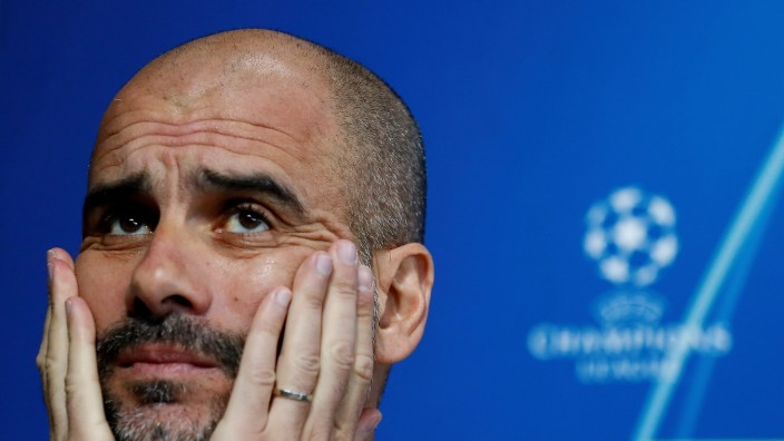 FILE PHOTO: Champions League - Manchester City Press Conference
