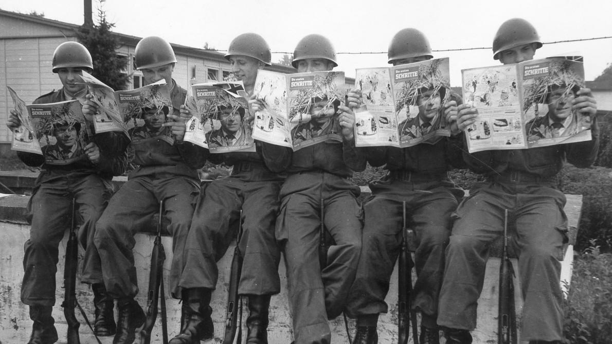 So bräunlich tickten Bundeswehr und NVA anfangs