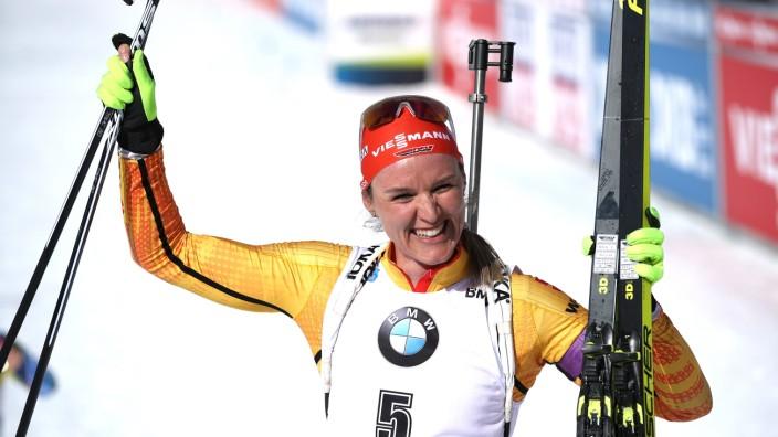 IBU World Championships Biathlon Antholz-Anterselva - Women 10 km Pursuit Competition