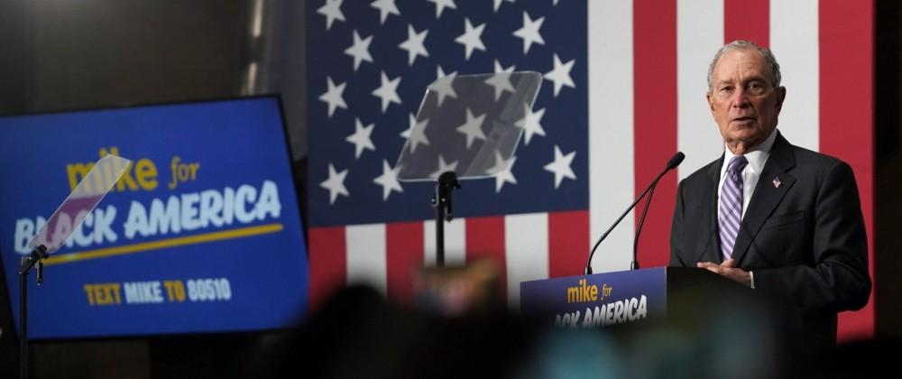 Michael Bloomberg, US-Wahl