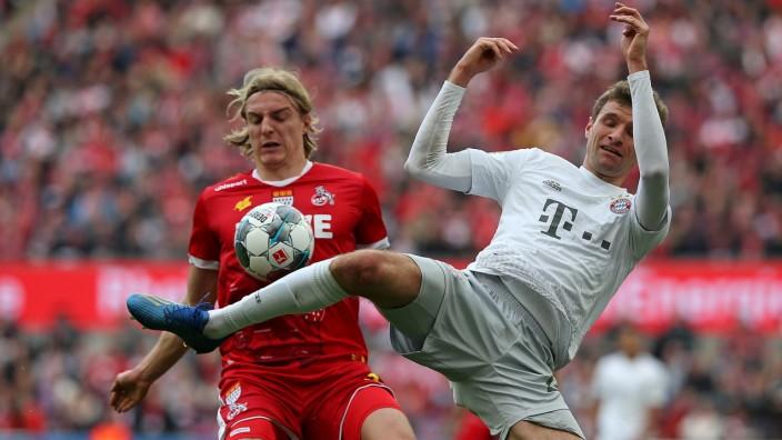 FC Bayern: Thomas Müller im Spiel gegen den 1. FC Köln