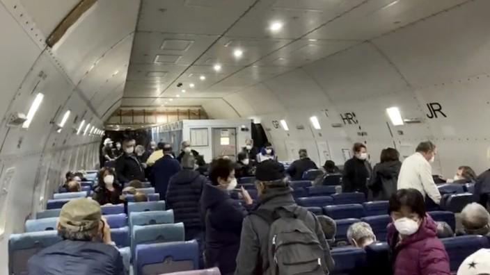 Coronavirus: US-Bürger werden von Kreuzfahrtschiff evakuiert