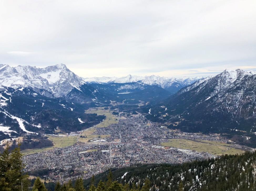 Winterwanderung Wank Garmisch Partenkirchen Winterwandern Tour