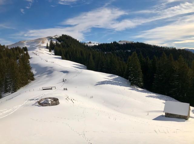 Winterwanderung Hörnle