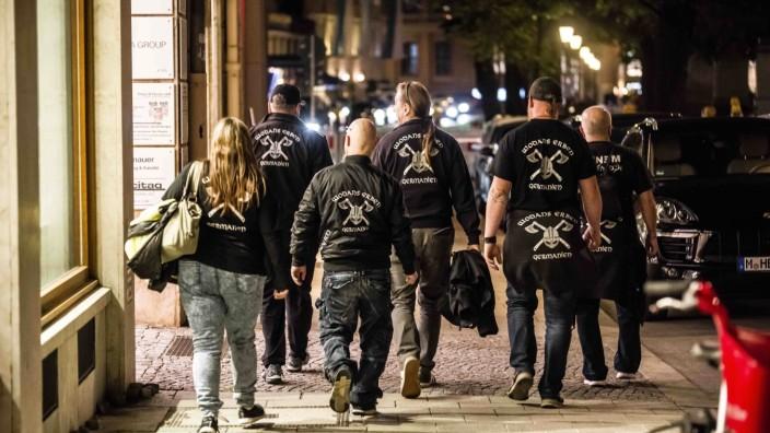 """München: Mitglieder der rechtsextremen Bürgerwehr """"Wodans Erben"""", 2019"""