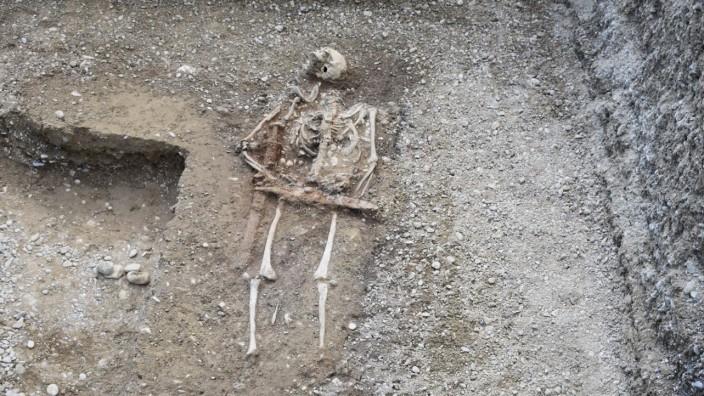 Archäologischer Fund: Ein Reitergrab aus dem siebten Jahrhundert