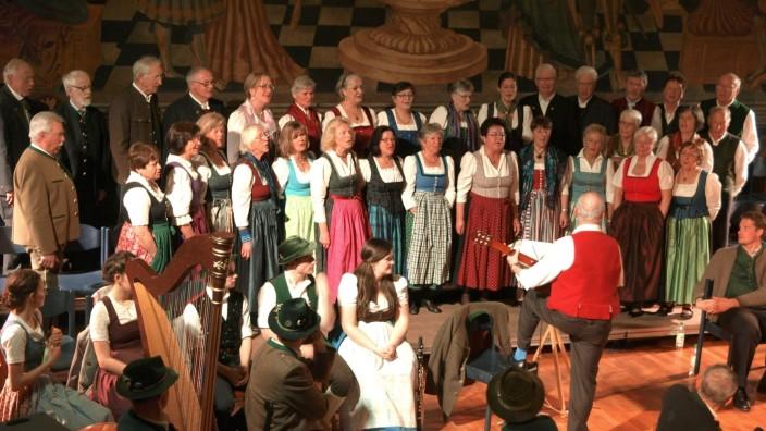 Singkreis Ebersberg im Rathaussaal Wasserburg