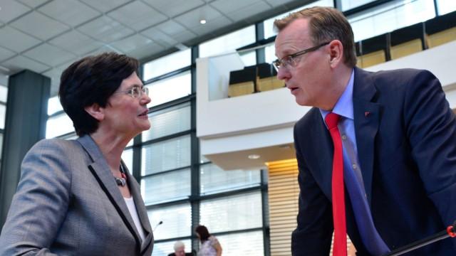 Christine Lieberknecht und Bodo Ramelow