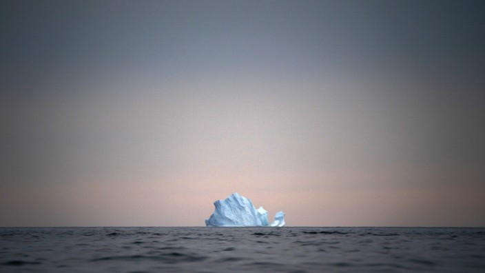 Klimawandel: Eisberge schmelzen