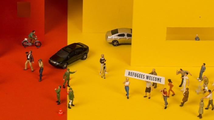 SZ-Serie: München vor der Wahl: Foto: Natalie Neomi Isser, Illustration: Laura Merlich