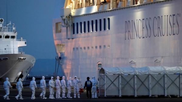 Kreuzfahrt Schiff Diamond Princess Quarantäne Corona Virus Covid-19