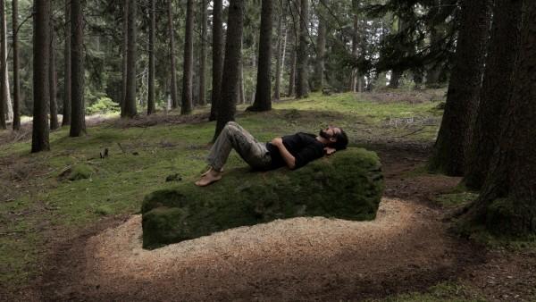 Fotografien der Landart-Projekte von Jan Langer aus Südtirol Land Art Land-Art