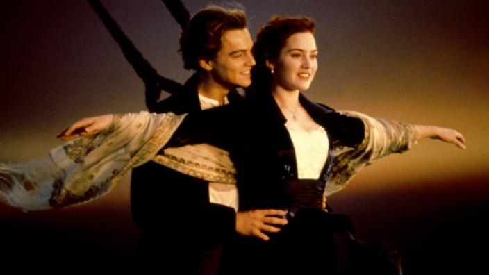 Twentieth Century Fox DR TITANIC TITANIC de James Cameron 1997 USA avec Leonardo DiCaprio et Ka